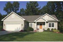 Architectural House Design - Craftsman Exterior - Front Elevation Plan #928-120