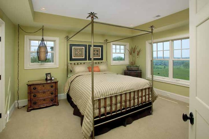 Classical Interior - Bedroom Plan #928-55 - Houseplans.com