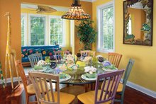 Traditional Interior - Dining Room Plan #930-121