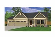 Ranch Style House Plan - 3 Beds 2 Baths 1817 Sq/Ft Plan #943-21 Exterior - Front Elevation