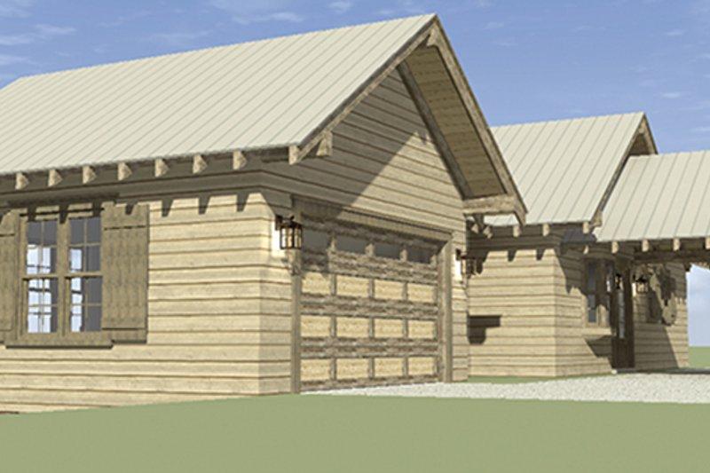 Cabin Exterior - Other Elevation Plan #64-263 - Houseplans.com