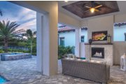 Mediterranean Style House Plan - 3 Beds 3.5 Baths 3433 Sq/Ft Plan #930-444 Exterior - Other Elevation