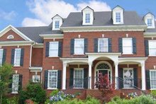Dream House Plan - Colonial Exterior - Front Elevation Plan #54-121