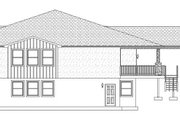 Ranch Style House Plan - 5 Beds 4 Baths 5296 Sq/Ft Plan #1060-21 Exterior - Other Elevation