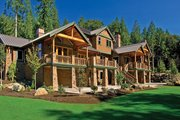 Contemporary Style House Plan - 4 Beds 4 Baths 7007 Sq/Ft Plan #951-2 Exterior - Front Elevation