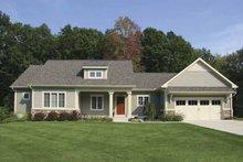 Craftsman Exterior - Front Elevation Plan #928-132