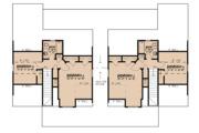 Craftsman Style House Plan - 4 Beds 3 Baths 1595 Sq/Ft Plan #923-123 Floor Plan - Upper Floor Plan