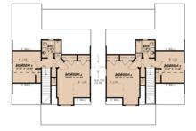 Craftsman Floor Plan - Upper Floor Plan Plan #923-123