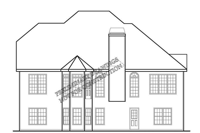 Country Exterior - Rear Elevation Plan #927-691 - Houseplans.com