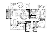 Ranch Floor Plan - Main Floor Plan Plan #942-21