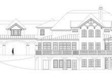 House Plan Design - Mediterranean Exterior - Rear Elevation Plan #119-414