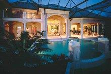 Dream House Plan - Mediterranean Exterior - Rear Elevation Plan #930-320