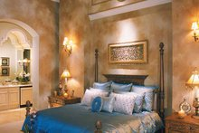 Dream House Plan - Mediterranean Interior - Master Bedroom Plan #930-330