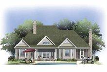 Craftsman Exterior - Rear Elevation Plan #929-802