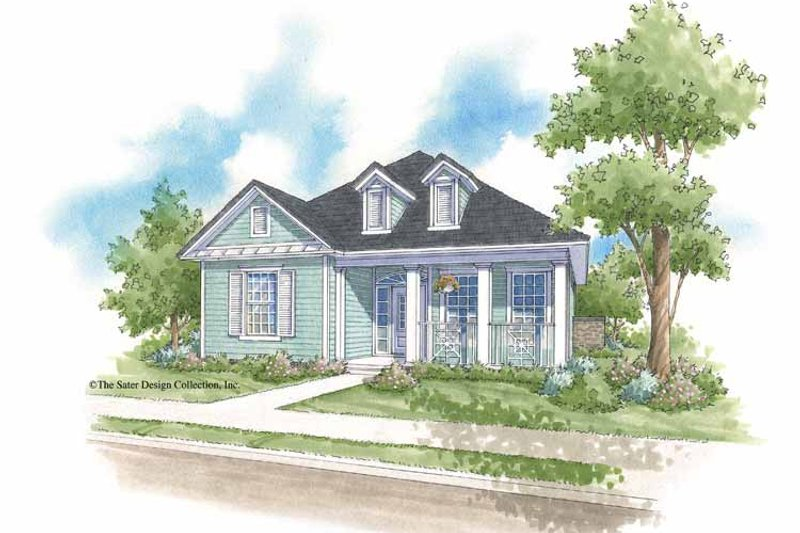 House Plan Design - Country Exterior - Front Elevation Plan #930-397