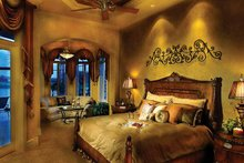 Mediterranean Interior - Master Bedroom Plan #930-329