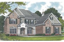House Plan Design - Traditional Exterior - Front Elevation Plan #453-556