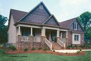 Country Style House Plan - 3 Beds 2 Baths 1724 Sq/Ft Plan #929-577