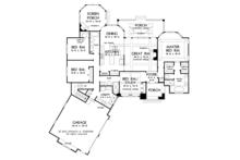 European Floor Plan - Main Floor Plan Plan #929-958