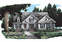 Dream House Plan - Ranch Exterior - Front Elevation Plan #927-261