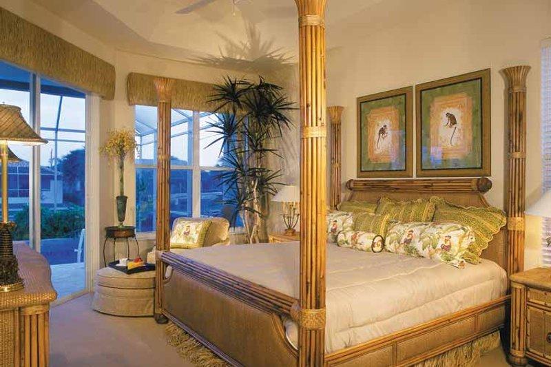 Mediterranean Interior - Master Bedroom Plan #930-318 - Houseplans.com