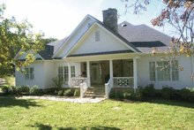 Home Plan - Country Exterior - Rear Elevation Plan #429-351