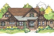 Craftsman Exterior - Front Elevation Plan #929-934