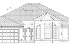 House Plan Design - Mediterranean Exterior - Front Elevation Plan #1058-38