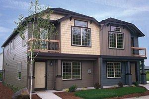 Craftsman Exterior - Front Elevation Plan #943-38