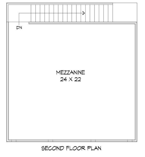 Dream House Plan - Contemporary Floor Plan - Upper Floor Plan #932-157