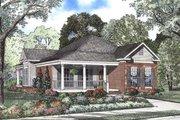 Farmhouse Style House Plan - 3 Beds 2 Baths 1601 Sq/Ft Plan #17-1126