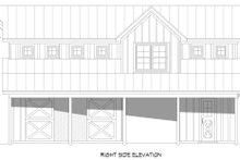House Design - Country Exterior - Other Elevation Plan #932-355