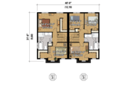 Contemporary Style House Plan - 5 Beds 2 Baths 2421 Sq/Ft Plan #25-4378 Floor Plan - Upper Floor Plan