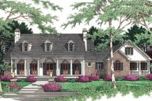 House Plan Design - Southern Exterior - Front Elevation Plan #406-172
