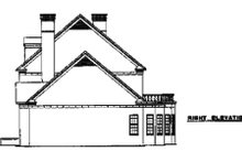 Dream House Plan - Colonial Exterior - Other Elevation Plan #17-2290