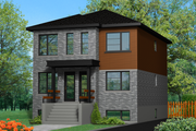Contemporary Style House Plan - 6 Beds 3 Baths 2904 Sq/Ft Plan #25-4279