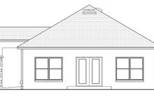 Mediterranean Exterior - Rear Elevation Plan #1058-115
