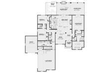 European Floor Plan - Main Floor Plan Plan #17-3369