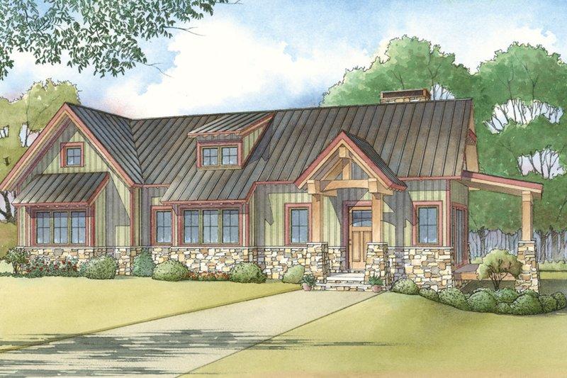House Design - Modern Exterior - Front Elevation Plan #923-218