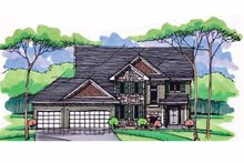 House Plan Design - Colonial Exterior - Front Elevation Plan #51-1003