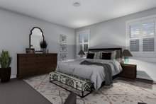 Craftsman Interior - Master Bedroom Plan #1060-52