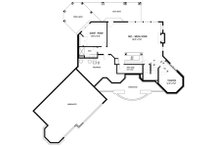 Traditional Floor Plan - Lower Floor Plan Plan #56-600
