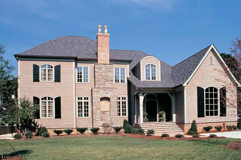 Country Exterior - Front Elevation Plan #453-248