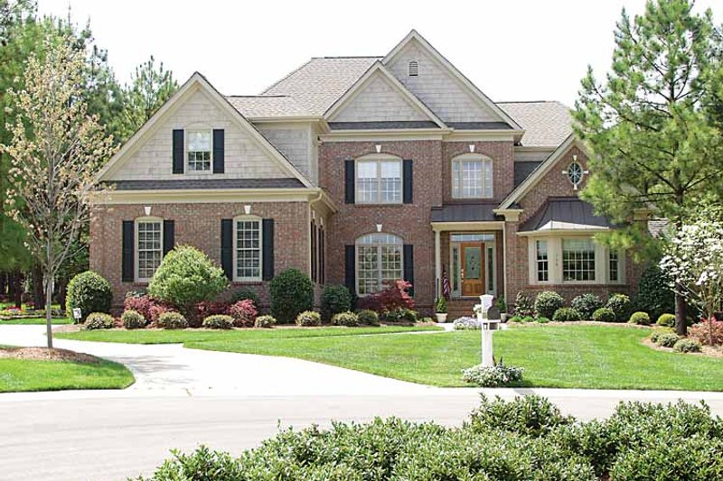Country Exterior - Front Elevation Plan #453-307 - Houseplans.com