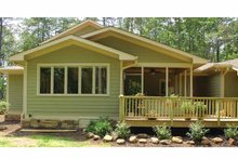 House Plan Design - Craftsman Exterior - Outdoor Living Plan #939-12