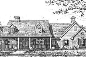 Traditional Exterior - Front Elevation Plan #310-613