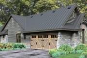 Bungalow Style House Plan - 3 Beds 2.5 Baths 2234 Sq/Ft Plan #120-245 Exterior - Other Elevation