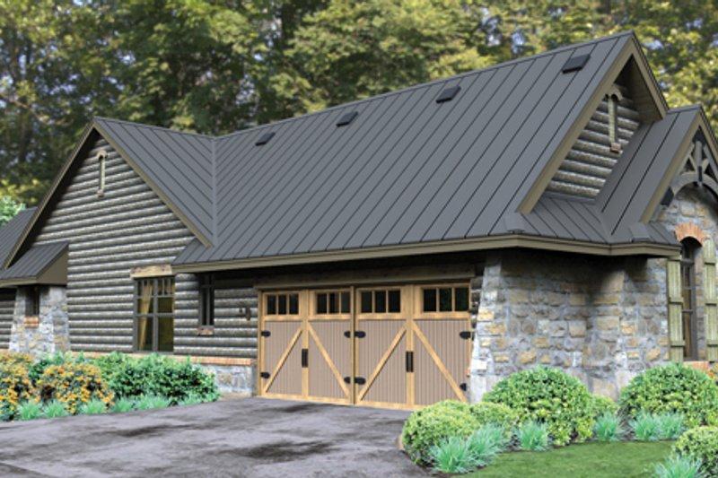 Bungalow Exterior - Other Elevation Plan #120-245 - Houseplans.com