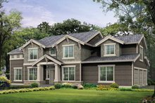 Dream House Plan - Craftsman Exterior - Front Elevation Plan #132-325