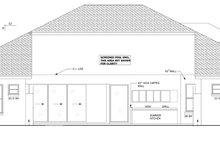 House Plan Design - Mediterranean Exterior - Other Elevation Plan #1058-43